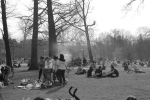 BBQ in the Vondelpark