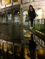 Colosseo Rome Reflection