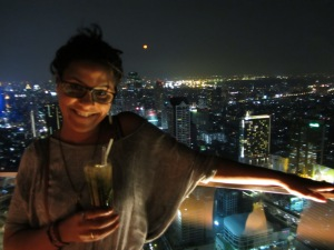 View from Lebua State Tower Bangkok Skybar